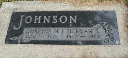 JOHNSON, DORRINE N. - Knox County, Nebraska   DORRINE N. JOHNSON - Nebraska Gravestone Photos
