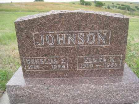 JOHNSON, DENELDA Z. - Knox County, Nebraska   DENELDA Z. JOHNSON - Nebraska Gravestone Photos