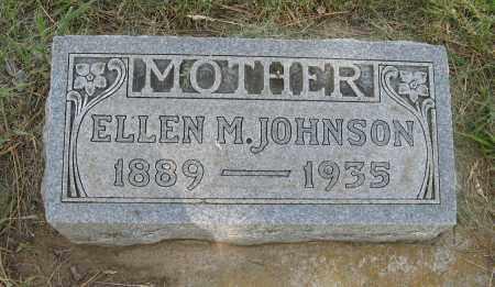 JOHNSON, ELLEN M. - Knox County, Nebraska | ELLEN M. JOHNSON - Nebraska Gravestone Photos