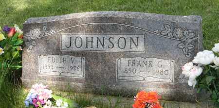 JOHNSON, EDITH V. - Knox County, Nebraska | EDITH V. JOHNSON - Nebraska Gravestone Photos