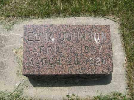 JOHNSON, ELNA - Knox County, Nebraska   ELNA JOHNSON - Nebraska Gravestone Photos