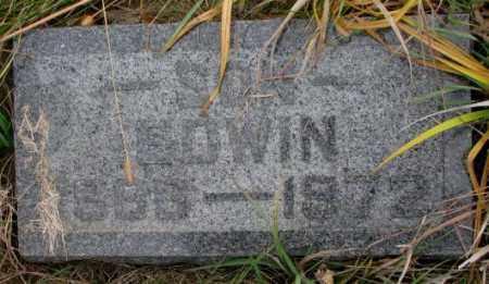 JOHNSON, EDWIN - Knox County, Nebraska | EDWIN JOHNSON - Nebraska Gravestone Photos
