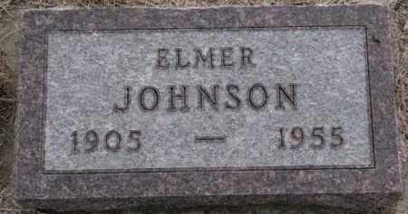 JOHNSON, ELMER - Knox County, Nebraska | ELMER JOHNSON - Nebraska Gravestone Photos