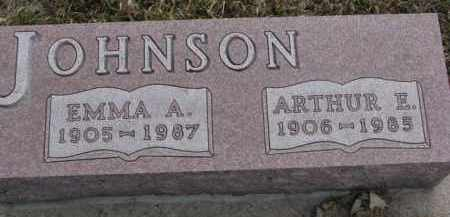 JOHNSON, EMMA A. - Knox County, Nebraska | EMMA A. JOHNSON - Nebraska Gravestone Photos