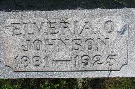 JOHNSON, ELVIRIA O. - Knox County, Nebraska | ELVIRIA O. JOHNSON - Nebraska Gravestone Photos