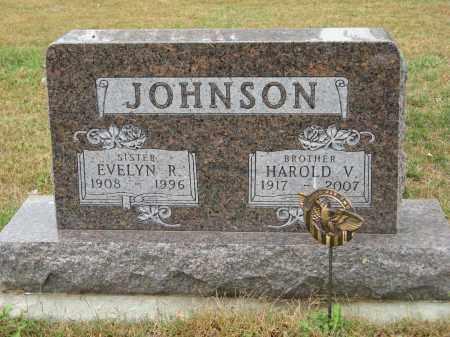 JOHNSON, HAROLD V. - Knox County, Nebraska | HAROLD V. JOHNSON - Nebraska Gravestone Photos