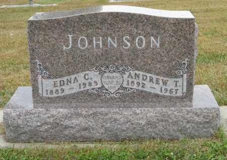 JOHNSON, EDNA C. - Knox County, Nebraska | EDNA C. JOHNSON - Nebraska Gravestone Photos