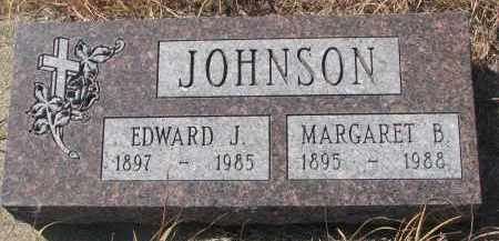 JOHNSON, EDWARD J. - Knox County, Nebraska   EDWARD J. JOHNSON - Nebraska Gravestone Photos