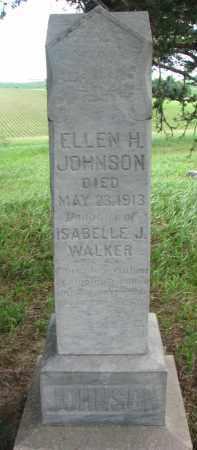 JOHNSON, ELLEN H. - Knox County, Nebraska | ELLEN H. JOHNSON - Nebraska Gravestone Photos