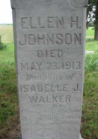 JOHNSON, ELLEN H. (CLOSEUP) - Knox County, Nebraska | ELLEN H. (CLOSEUP) JOHNSON - Nebraska Gravestone Photos