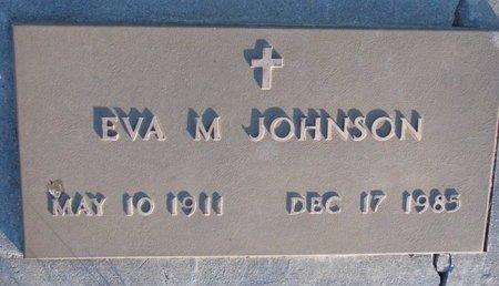 JOHNSON, EVA M. - Knox County, Nebraska | EVA M. JOHNSON - Nebraska Gravestone Photos