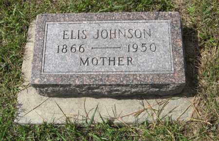 JOHNSON, ELIS - Knox County, Nebraska   ELIS JOHNSON - Nebraska Gravestone Photos
