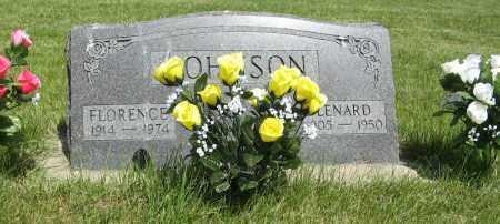 JOHNSON, LENARD - Knox County, Nebraska   LENARD JOHNSON - Nebraska Gravestone Photos