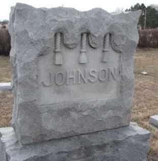 JOHNSON, FAMILY STONE - Knox County, Nebraska | FAMILY STONE JOHNSON - Nebraska Gravestone Photos