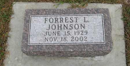 JOHNSON, FORREST L. - Knox County, Nebraska | FORREST L. JOHNSON - Nebraska Gravestone Photos