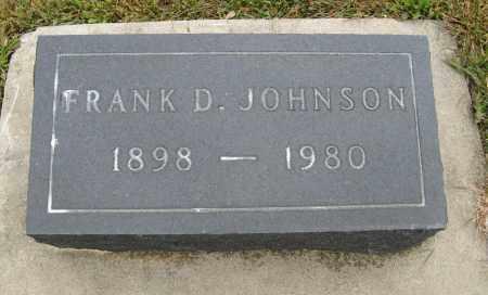 JOHNSON, FRANK D. - Knox County, Nebraska   FRANK D. JOHNSON - Nebraska Gravestone Photos