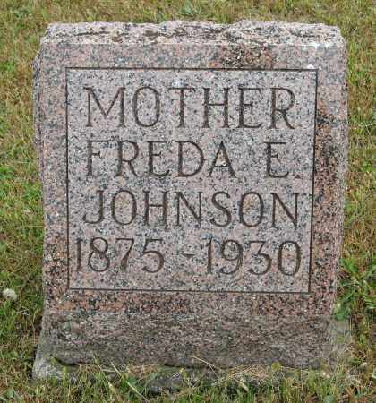 JOHNSON, FREDA E. - Knox County, Nebraska | FREDA E. JOHNSON - Nebraska Gravestone Photos