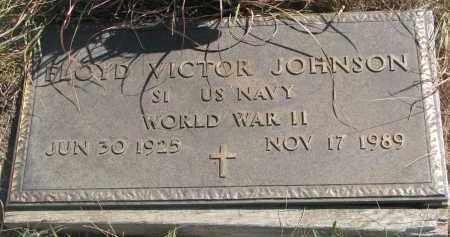 JOHNSON, FLOYD VICTOR - Knox County, Nebraska | FLOYD VICTOR JOHNSON - Nebraska Gravestone Photos