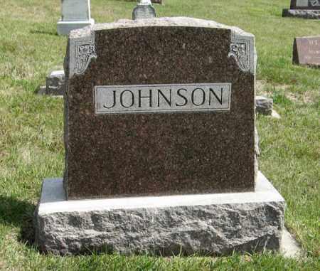 JOHNSON, FAMILY - Knox County, Nebraska | FAMILY JOHNSON - Nebraska Gravestone Photos