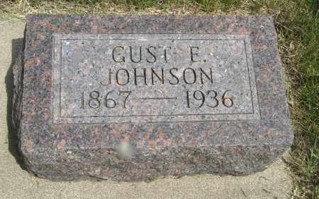 JOHNSON, GUST E. - Knox County, Nebraska   GUST E. JOHNSON - Nebraska Gravestone Photos