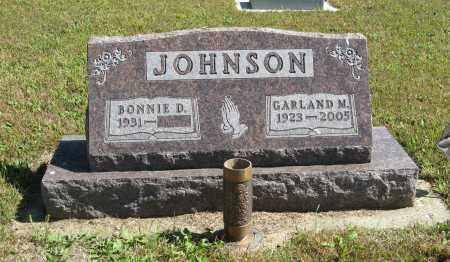 JOHNSON, GARLAND M. - Knox County, Nebraska | GARLAND M. JOHNSON - Nebraska Gravestone Photos