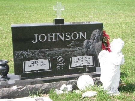 JOHNSON, GREG A. - Knox County, Nebraska | GREG A. JOHNSON - Nebraska Gravestone Photos