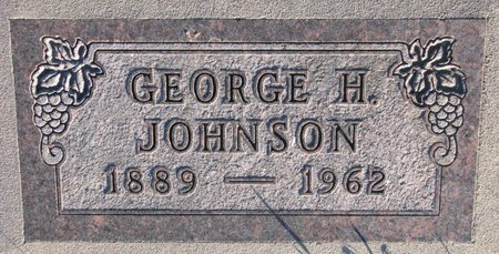 JOHNSON, GEORGE H. - Knox County, Nebraska | GEORGE H. JOHNSON - Nebraska Gravestone Photos
