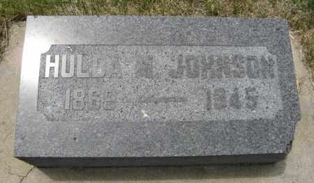 JOHNSON, HULDA M. - Knox County, Nebraska   HULDA M. JOHNSON - Nebraska Gravestone Photos