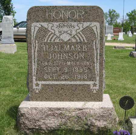 JOHNSON, HJALMAR B. - Knox County, Nebraska | HJALMAR B. JOHNSON - Nebraska Gravestone Photos