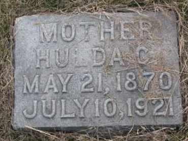 JOHNSON, HULDA C. - Knox County, Nebraska   HULDA C. JOHNSON - Nebraska Gravestone Photos
