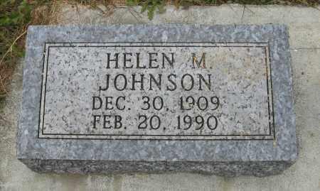 JOHNSON, HELEN M. - Knox County, Nebraska | HELEN M. JOHNSON - Nebraska Gravestone Photos