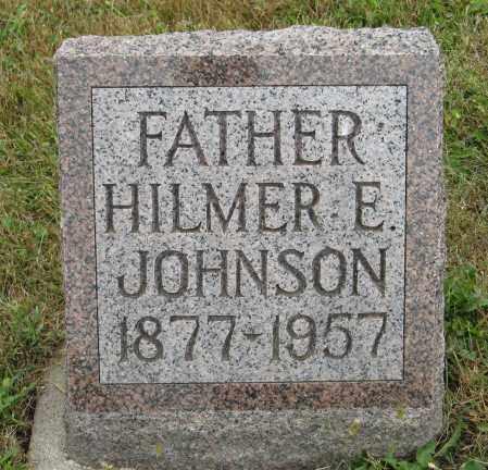 JOHNSON, HILMER E. - Knox County, Nebraska | HILMER E. JOHNSON - Nebraska Gravestone Photos