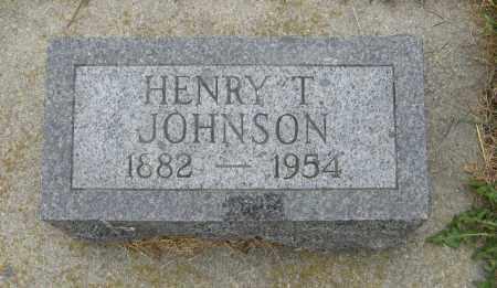 JOHNSON, HENRY T. - Knox County, Nebraska   HENRY T. JOHNSON - Nebraska Gravestone Photos