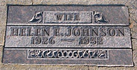JOHNSON, HELEN E. - Knox County, Nebraska   HELEN E. JOHNSON - Nebraska Gravestone Photos