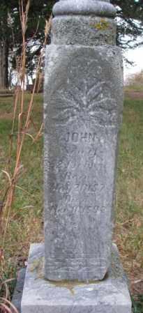 JOHNSON, JOHN - Knox County, Nebraska   JOHN JOHNSON - Nebraska Gravestone Photos