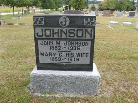 JOHNSON, JOHN M. - Knox County, Nebraska | JOHN M. JOHNSON - Nebraska Gravestone Photos