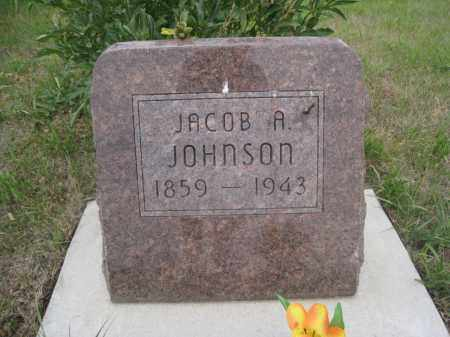 JOHNSON, JACOB A. - Knox County, Nebraska | JACOB A. JOHNSON - Nebraska Gravestone Photos