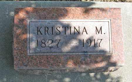 JOHNSON, KRISTINA M. - Knox County, Nebraska   KRISTINA M. JOHNSON - Nebraska Gravestone Photos