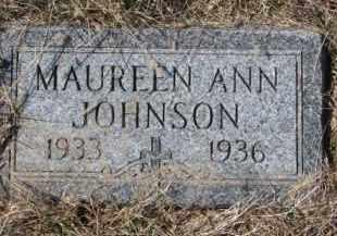 JOHNSON, MAUREEN ANN - Knox County, Nebraska   MAUREEN ANN JOHNSON - Nebraska Gravestone Photos