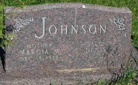 JOHNSON, MARCIA M. - Knox County, Nebraska   MARCIA M. JOHNSON - Nebraska Gravestone Photos
