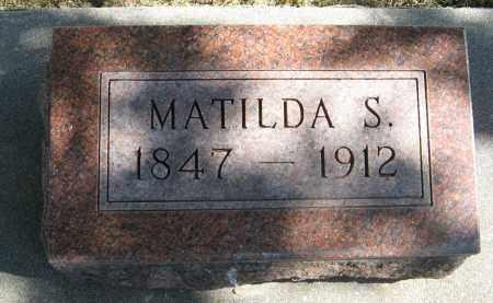 JOHNSON, MATILDA S. - Knox County, Nebraska   MATILDA S. JOHNSON - Nebraska Gravestone Photos