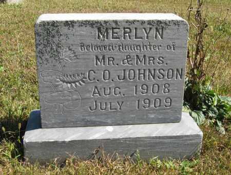 JOHNSON, MERLYN - Knox County, Nebraska   MERLYN JOHNSON - Nebraska Gravestone Photos