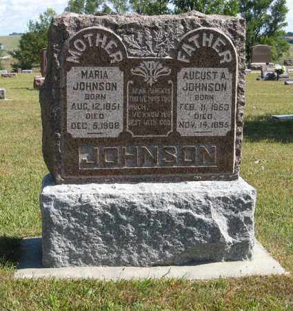 JOHNSON, MARIA - Knox County, Nebraska   MARIA JOHNSON - Nebraska Gravestone Photos