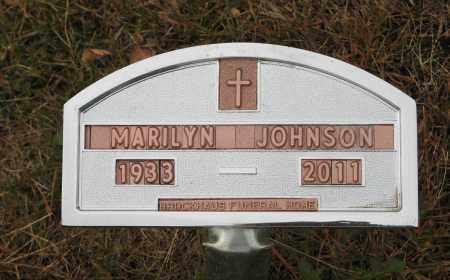 JOHNSON, MARILYN - Knox County, Nebraska | MARILYN JOHNSON - Nebraska Gravestone Photos