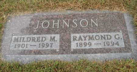 JOHNSON, MILDRED M. - Knox County, Nebraska | MILDRED M. JOHNSON - Nebraska Gravestone Photos