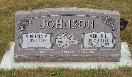 JOHNSON, MERLIN L. - Knox County, Nebraska | MERLIN L. JOHNSON - Nebraska Gravestone Photos