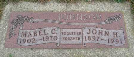 JOHNSON, MABEL C. - Knox County, Nebraska | MABEL C. JOHNSON - Nebraska Gravestone Photos