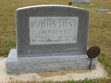 JOHNSON, MINDEN P. - Knox County, Nebraska | MINDEN P. JOHNSON - Nebraska Gravestone Photos