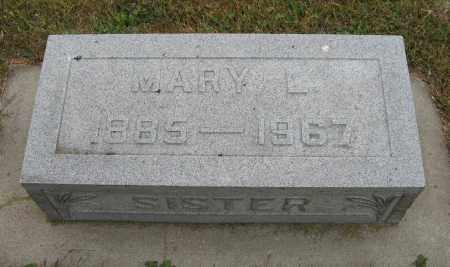 JOHNSON, MARY L. - Knox County, Nebraska   MARY L. JOHNSON - Nebraska Gravestone Photos