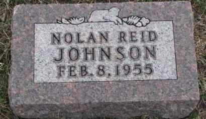 JOHNSON, NOLAN REID - Knox County, Nebraska   NOLAN REID JOHNSON - Nebraska Gravestone Photos